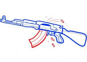 how-to-draw-an-ak-47-assault-rifle-step-5