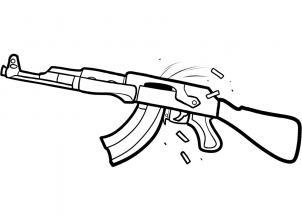 how-to-draw-an-ak-47-assault-rifle-step-6