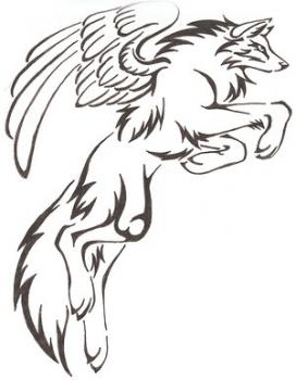 how-to-draw-a-tribal-winged-wolf-tattoo-tutorial-drawing
