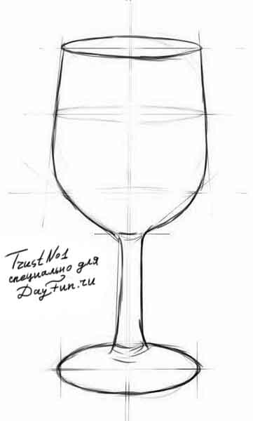 for How to draw on wine glasses