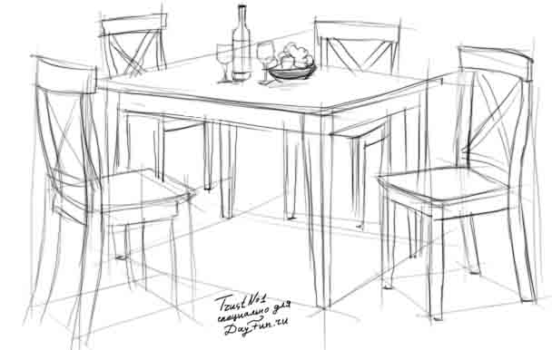 Drawing dining